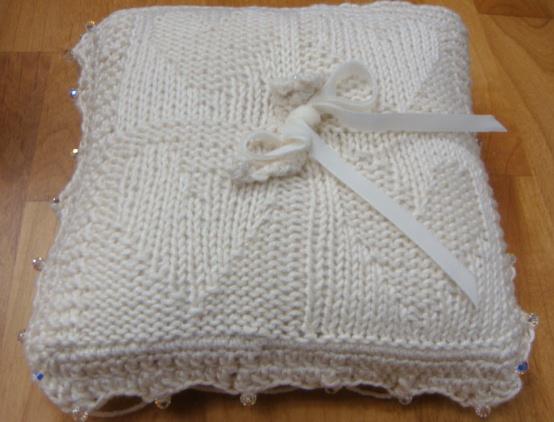 Heirloom Knitting The Ring Bearers Pillow