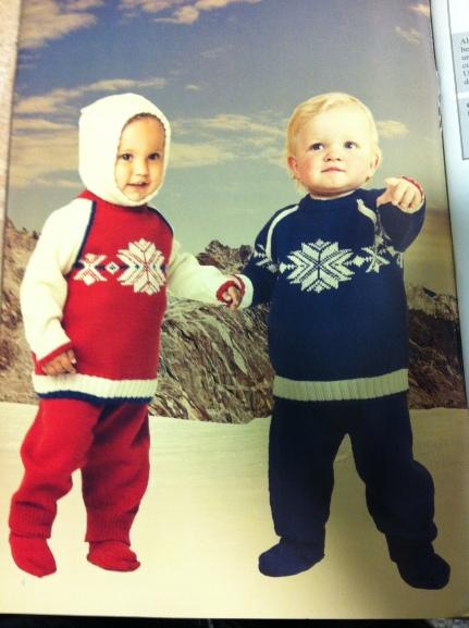 Dale Garn Olympic Sweater Baby